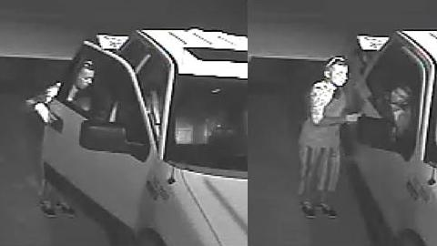 Courtesy of College Station police, photos of a suspect in multiple vehicle burglaries and stolen vehicles.