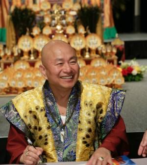 His Holiness Grand Master Lu