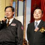 圖為貴賓鄭文燦市長致詞。右為邱奕勝議長p1147-02-06