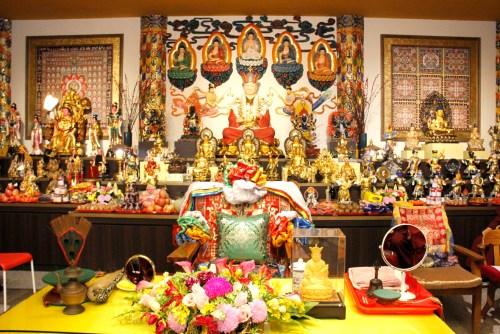 圖為廣喜雷藏寺壇城一景 p1161-04-00