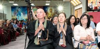 兩位貴賓為日本真言宗上師。