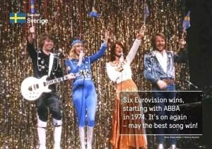瑞典著名樂團ABBA