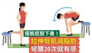 四大步驟運動臀部肌肉