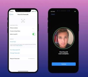蘋果十周年款iPhone X 以生物辨識技術的行動支付FaceID