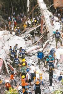 墨西哥7.1強震,圖為救災一景。