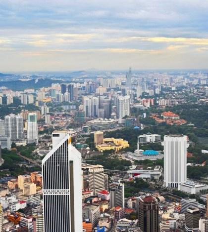 圖為馬來西亞吉隆坡城市景象