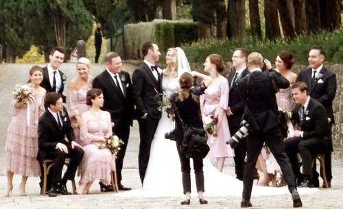 名模凱特阿普頓婚紗吸睛
