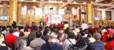 四眾嘉賓參加新春電視節目