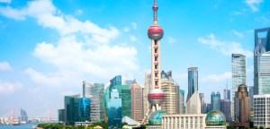 中國上海一景