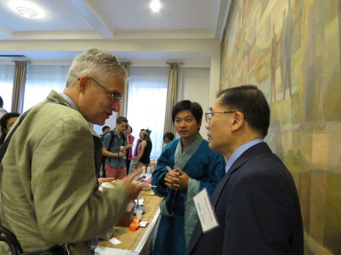 Dr Tea Confucius day at Tufts University