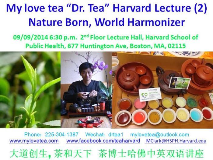 harvard tea lecture 2