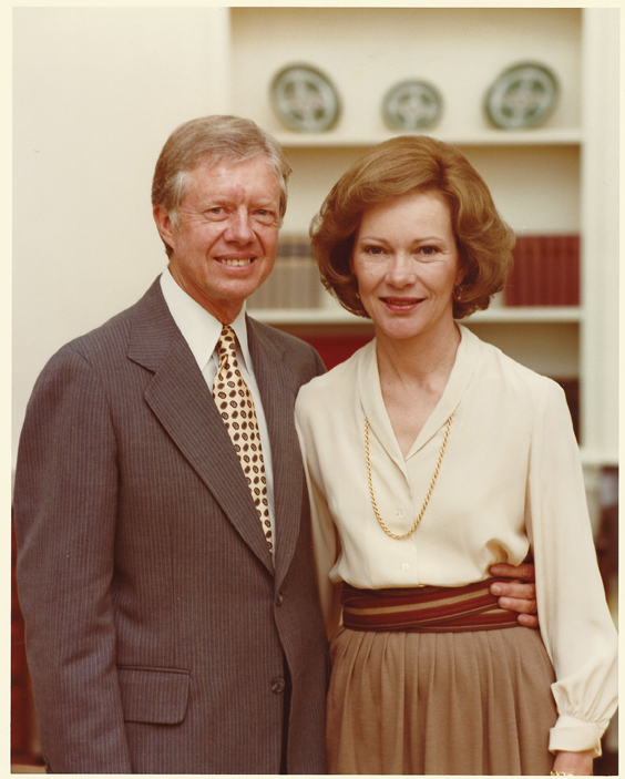 WTeaO.org Jimmy&Rosalynn Carter greets Chinese Tea