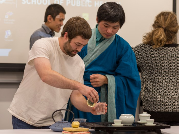 Harvard School of Public Lecture and Tea Tasting