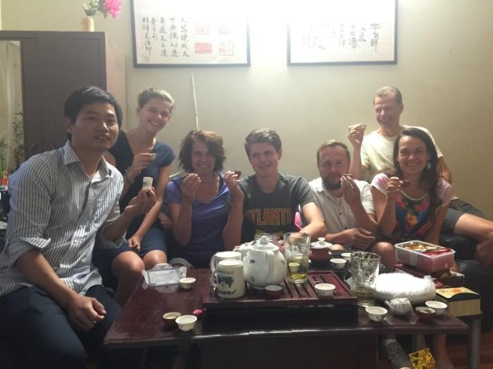 internation tea fun