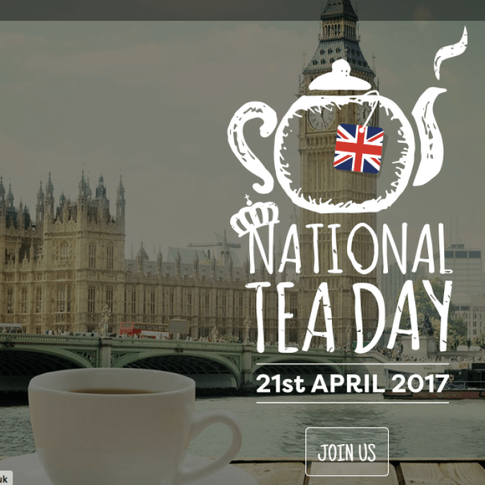 world tea day at UK