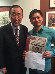 UN Secretary General Ben Ki-Moon