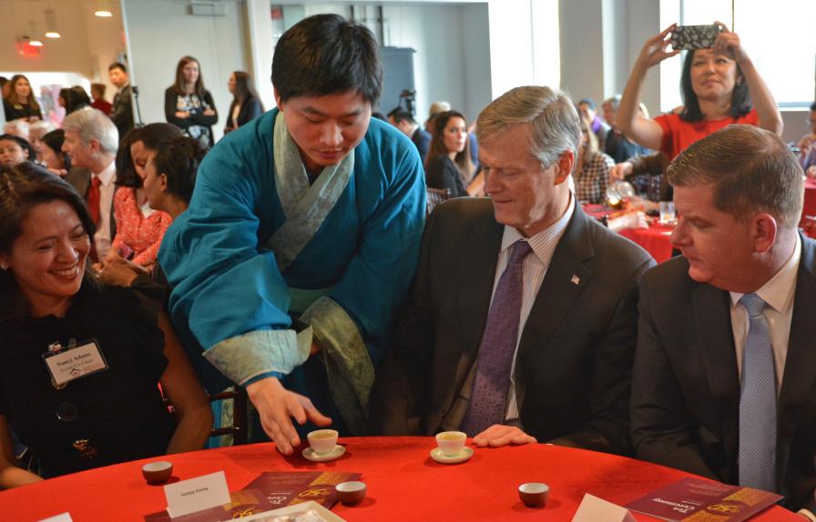 Boston Herald Dr Tea Xingcai Zhang