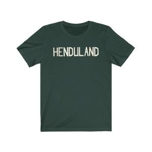 "Dave ""HENDULAND"" Short Sleeve Tee"