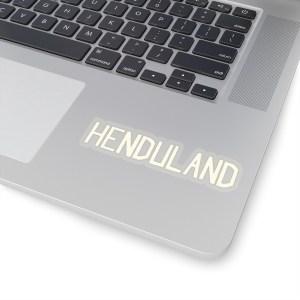 """Dave """"Henduland"""" Stickers"""