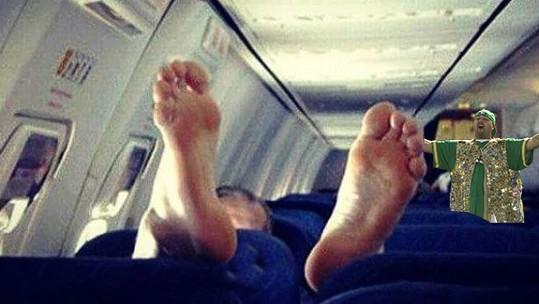 WTF on a plane