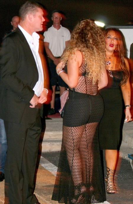 Mariah fishnet