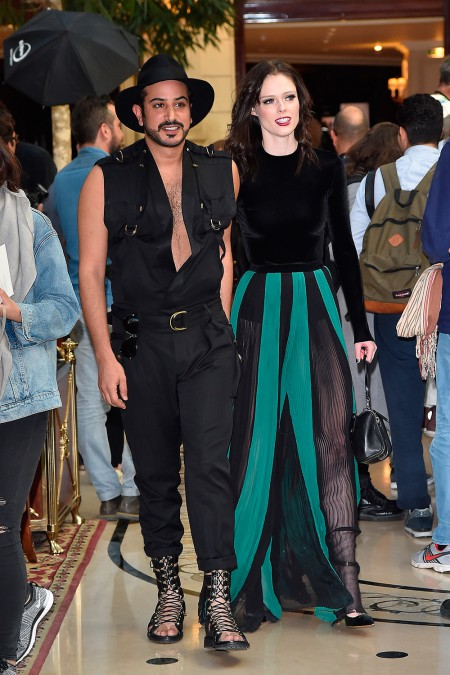 coco and mohammed balmain show