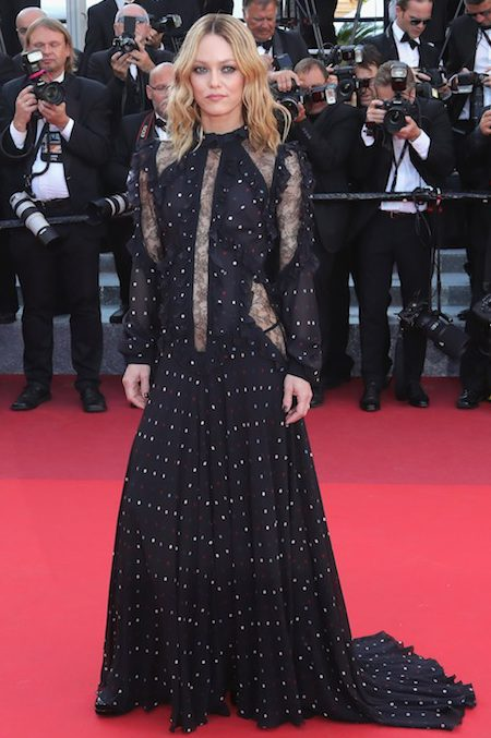 CANNES, FRANCE - MAY 15: Jury member Vanessa Paradis attends the screening of 'From The Land Of The Moon (Mal De Pierres)' at the annual 69th Cannes Film Festival at Palais des Festivals on May 15, 2016 in Cannes, France. (Photo by Neilson Barnard/Getty Images)