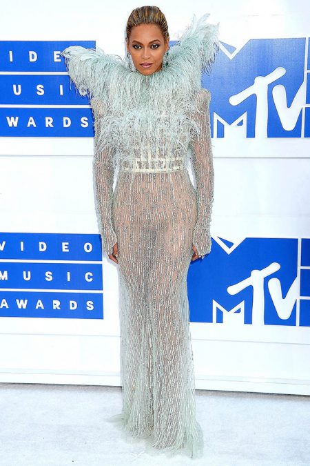 Mandatory Credit: Photo by Broadimage/REX/Shutterstock (5848766w) Beyonce Knowles 2016 MTV Video Music Awards, Arrivals, Madison Square Garden, New York, USA - 28 Aug 2016 2016 MTV Video Music Awards