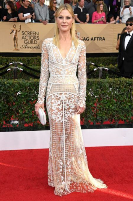 LOS ANGELES, CA - JANUARY 29: Actor Julie Bowen attends The 23rd Annual Screen Actors Guild Awards at The Shrine Auditorium on January 29, 2017 in Los Angeles, California. 26592_008 (Photo by Frazer Harrison/Getty Images)