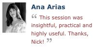 Ana Arias on Nick Armstrong