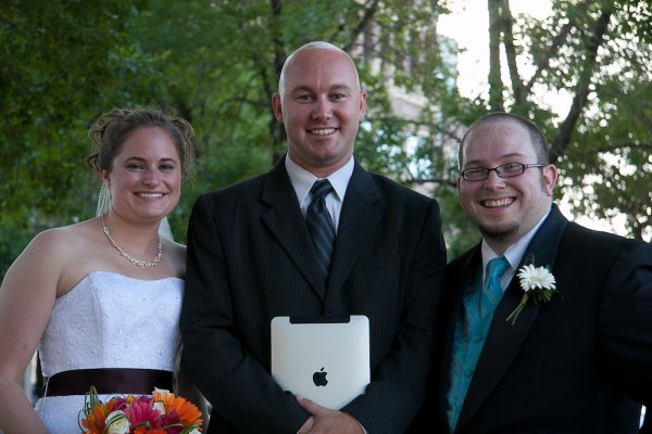 Nick and Stacy's Wedding - Complete with iPad