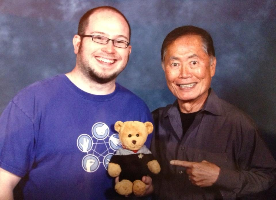 Nick and George Takei