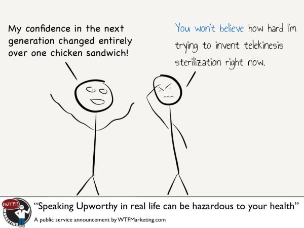Speaking Upworthy