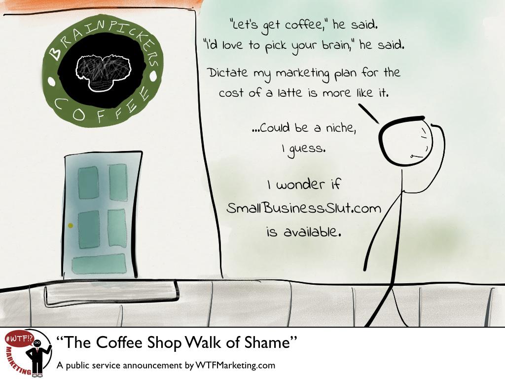 Coffee Shop Walk Of Shame