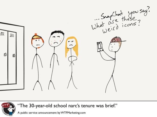 The school narc's tenure was short.