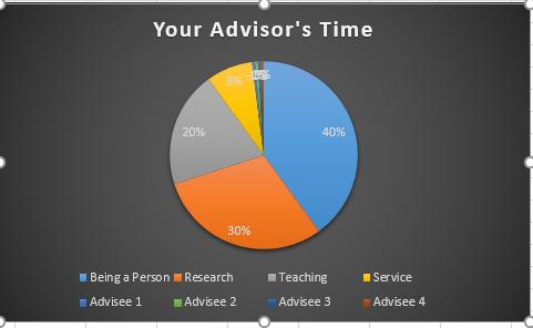 Dissertation Advisors Time
