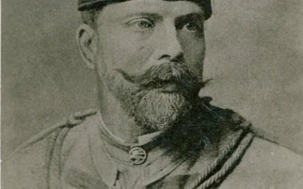Antoni Maciej Trzaska Durski w stroju organizacji Sokół Trzaska Durscy w drodze do Niepodległości