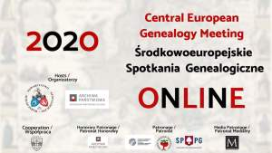 Central European Genealogy Meeting online 2020