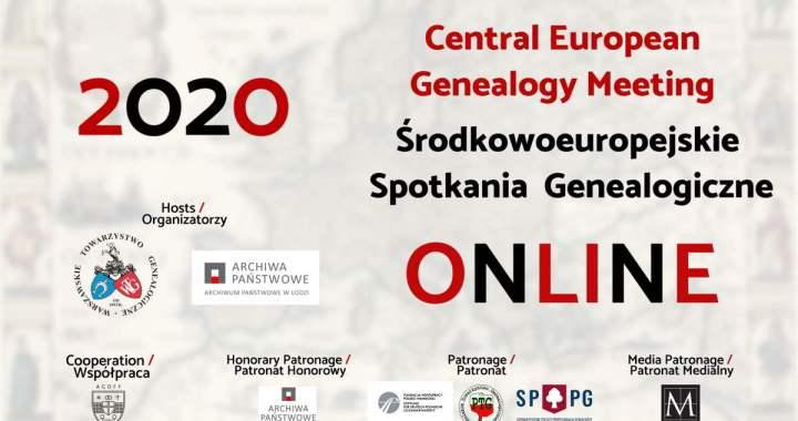 Central European Genealogy Meeting online 2020