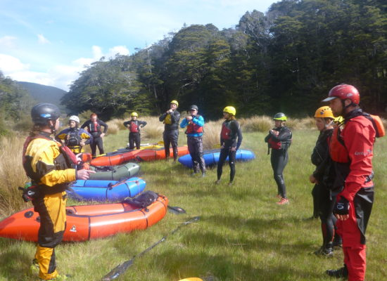 Packrafting Training