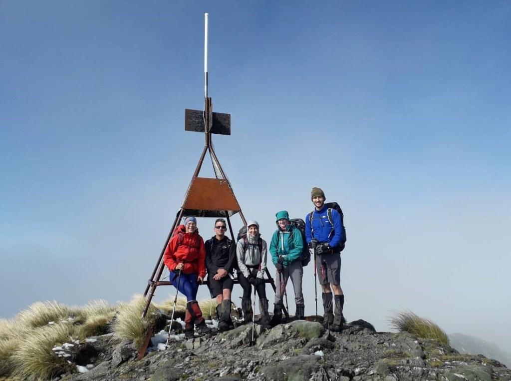Mt Holdsworth summit