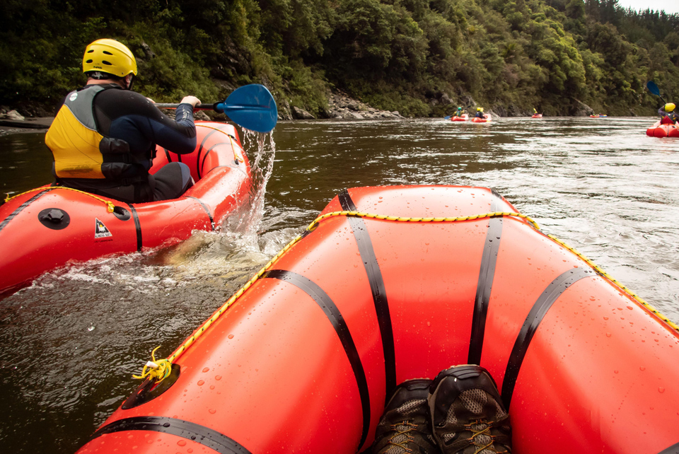 Packrafting Otaki River
