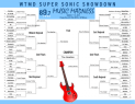 Final Music Madness Bracket