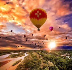albuquerque balloon fiesta transportation