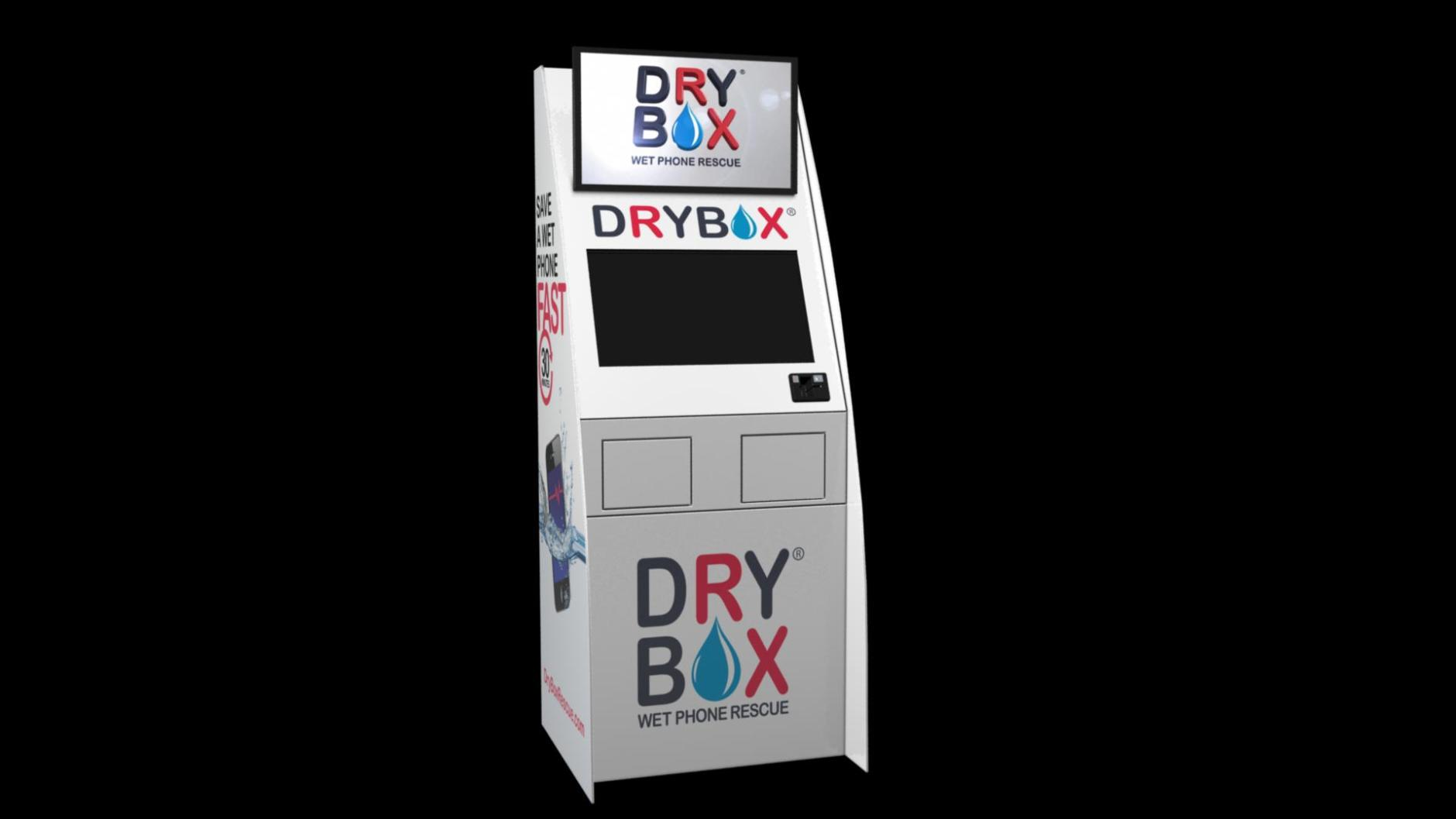 Image result for dryBox kiosk