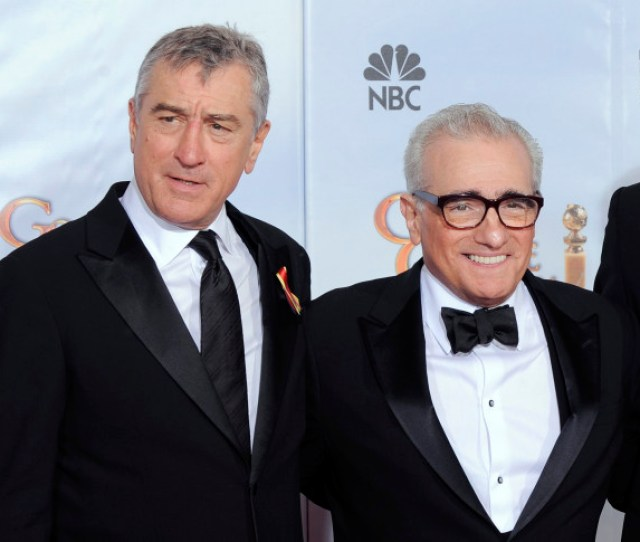 File In This Jan 17 2010 File Photo Robert De Niro Left And Martin Scorsese Winner Of The Cecil B Demille Lifetime Achievement Award