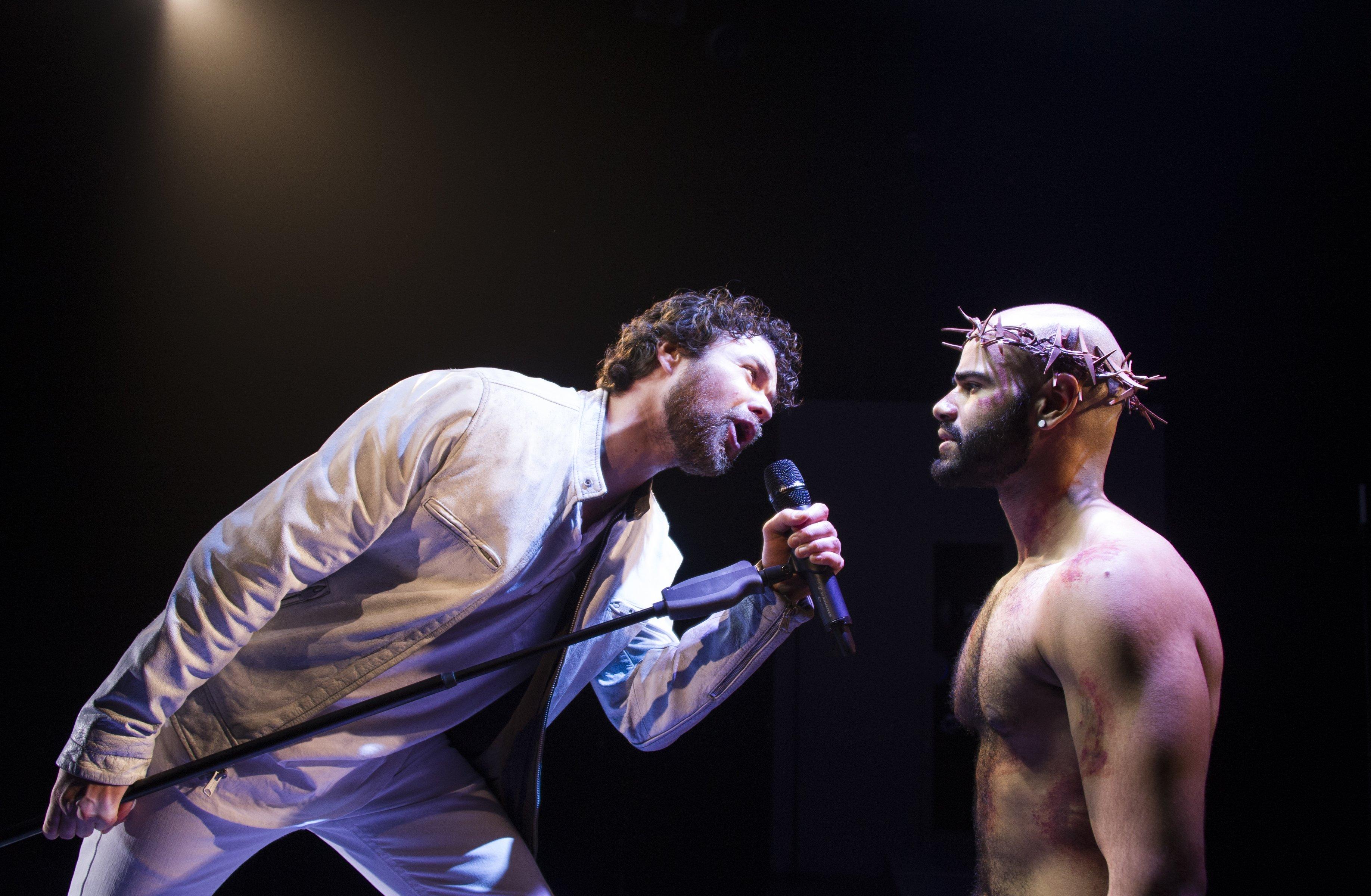 Judas And Jesus Collide In Signature Theatre's 'jesus