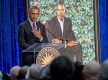 Obama jokes he failed to get artist to give him smaller ...