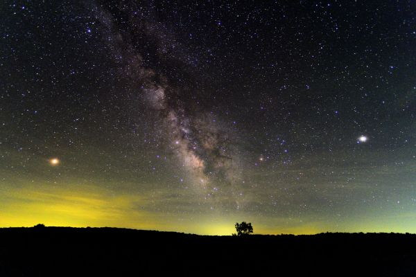 Shenandoah National Park Hosts Night Sky Festival Perseid Shower Views Wtop