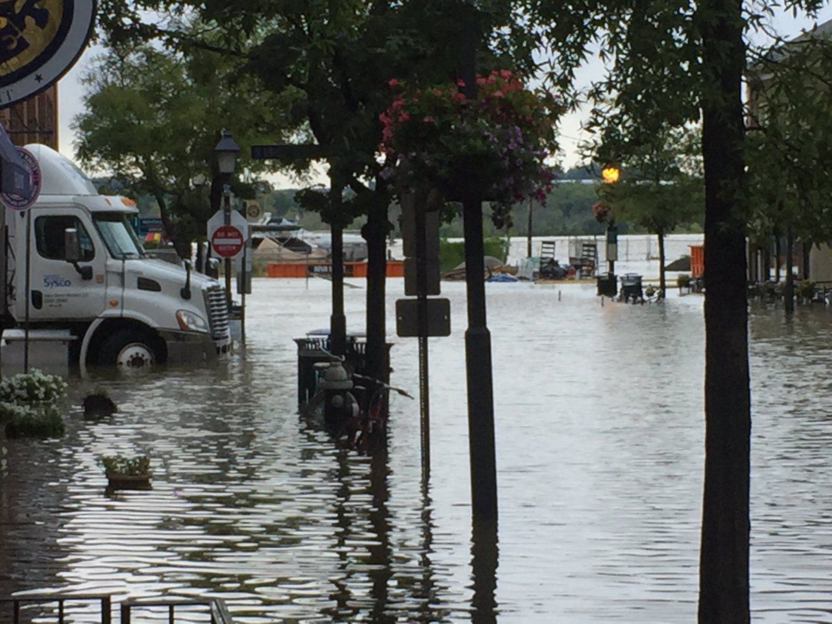 Weekend Flooding Continues To Worsen In Alexandria